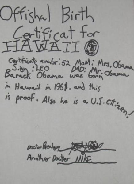 Obama releases his birth certificate