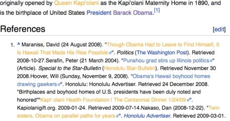 wiki kapio references